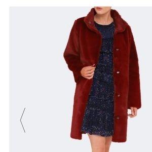 NWT! Velvet by Graham & Spencer Faux Fur Mina Coat